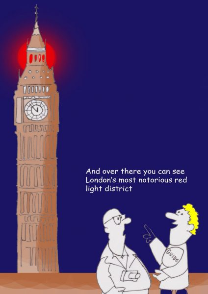 London's most notorious red light district cartoon