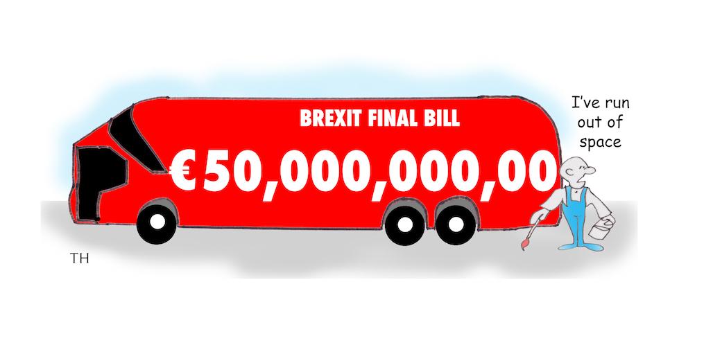 Brexit - the final bill