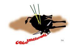 Catalan independence cartoon