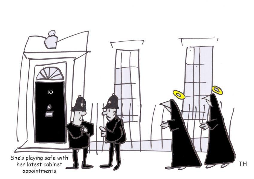 cabinet reshuffle cartoon