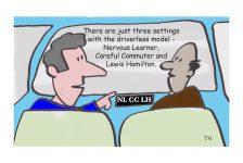 driverless cars cartoon