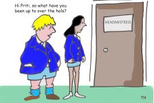 so whatever you been up to over the hols cartoon