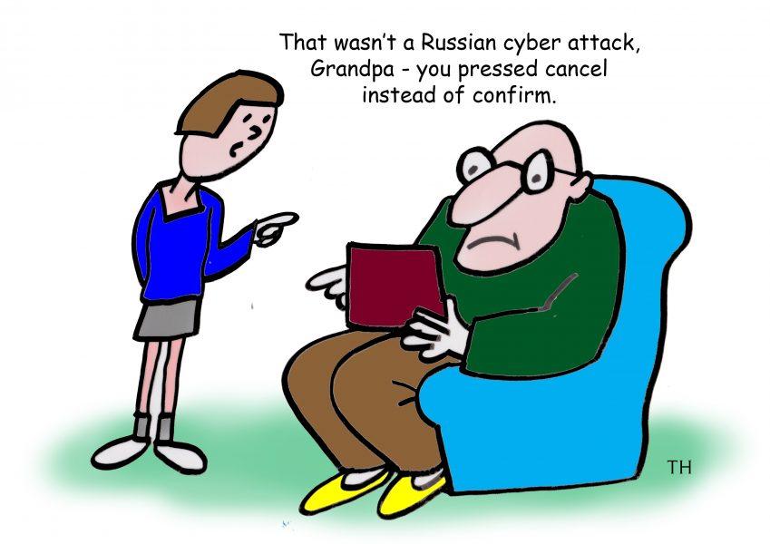 Russian cyber attack