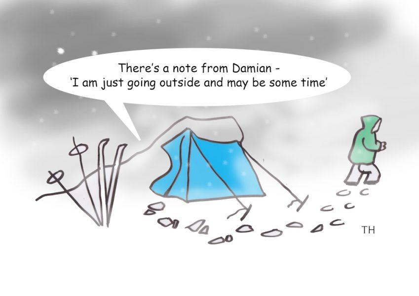 Damian Green cartoon