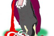 farage vulture cartoon