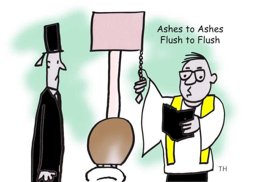 flush to flush
