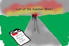 last of the summer Wine cartoon