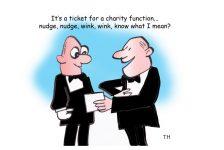 Nudge nudge cartoon