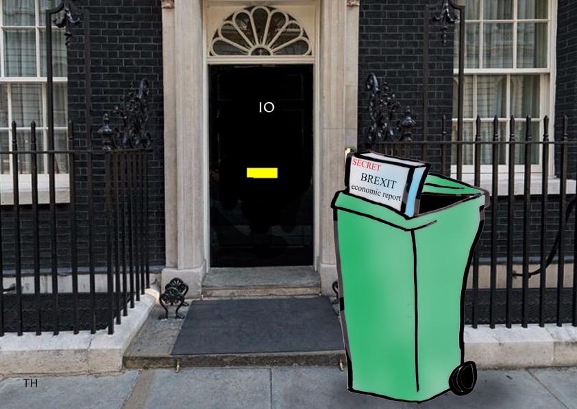 brexit economic report cartoon