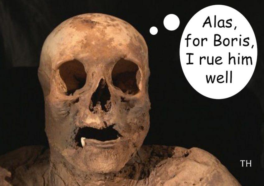 grand mummy cartoon