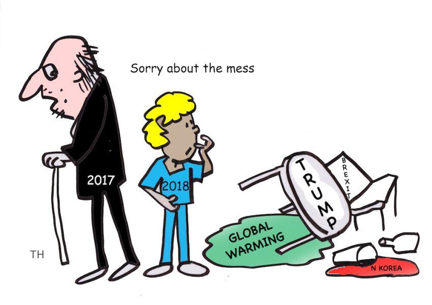 Sorry mess cartoon