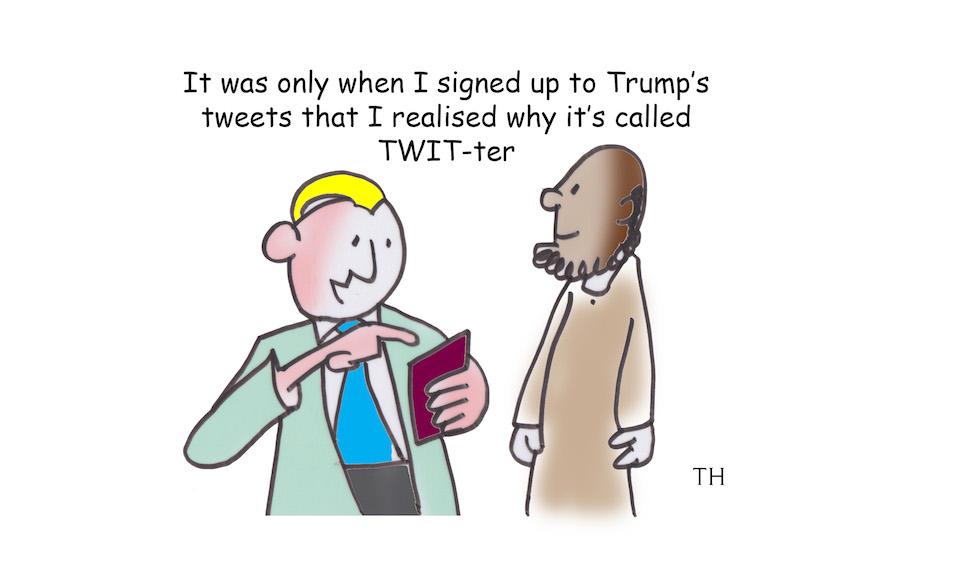 Twitter cartoon
