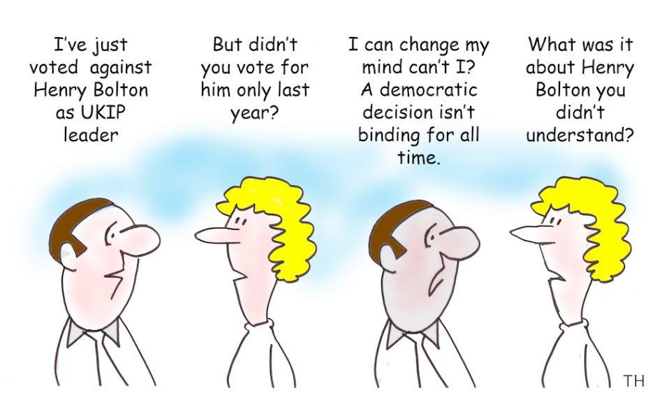 UKIP vote cartoon