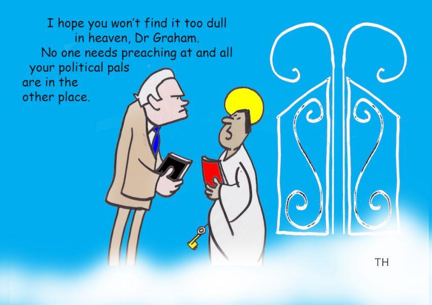 billy graham cartoon