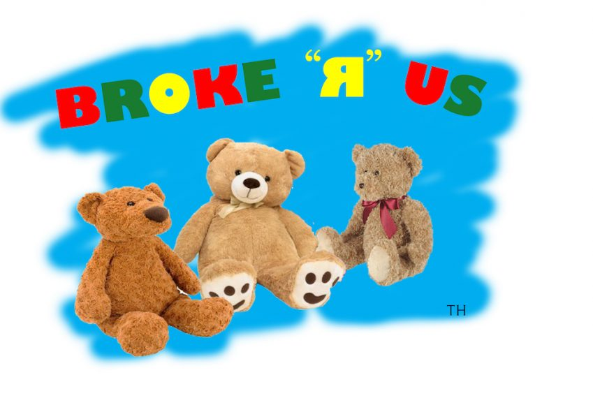 broke r us Cartoon