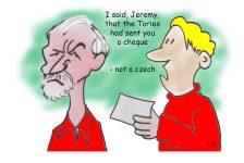 Jeremy Corbyn czech cartoon
