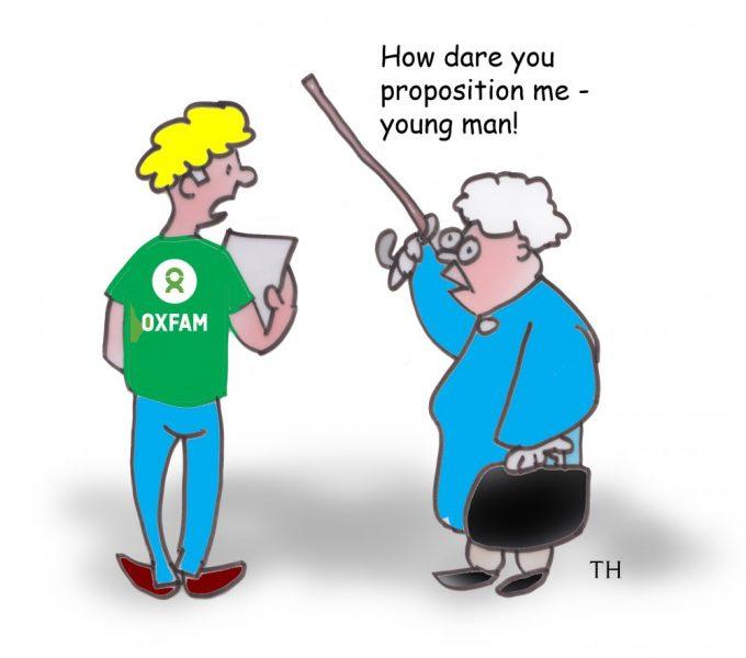 Oxfam cartoon