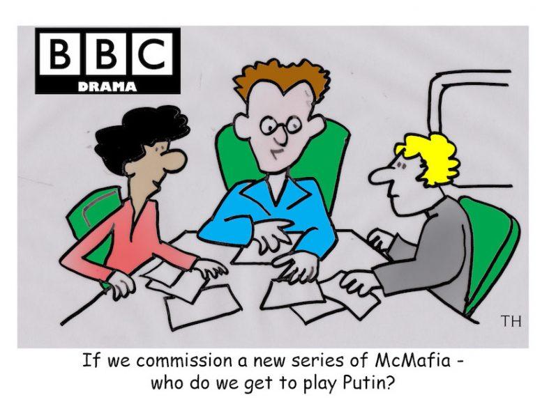 Putin McMafia cartoon