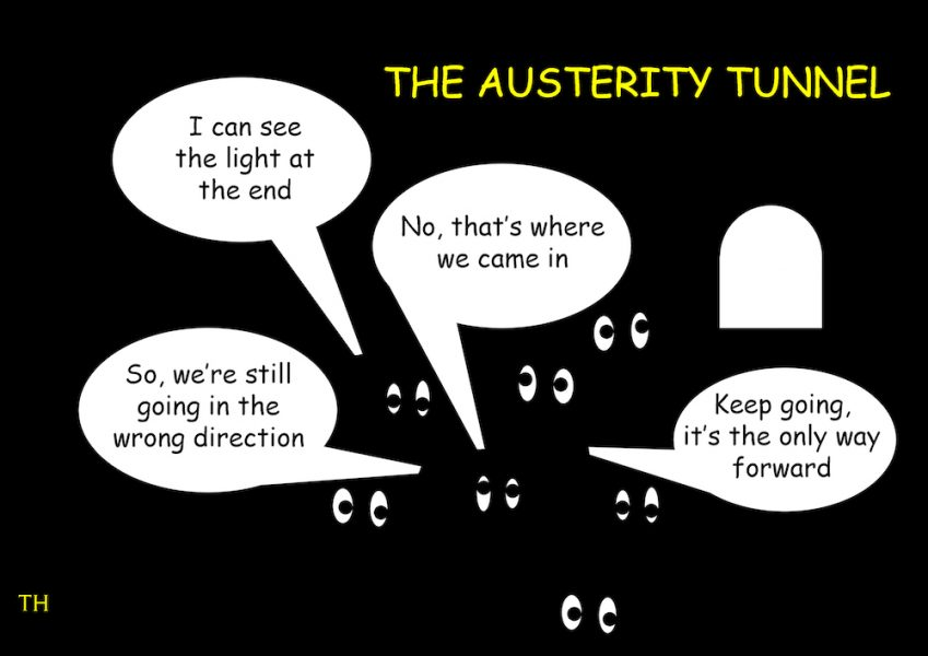 austerity tunnel