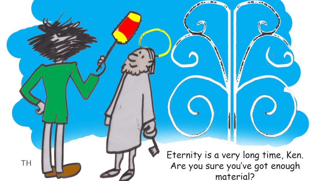 Ken Dodd Cartoon