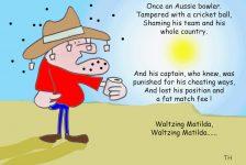 Waltzing Matilda cartoon