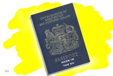 new UK passport cartoon