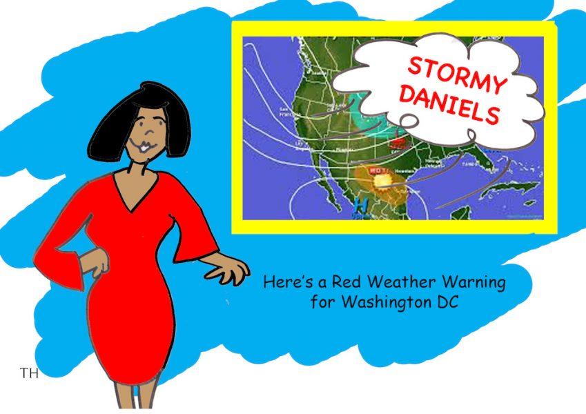 stormy daniels cartoon