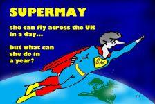 Supermay cartoon