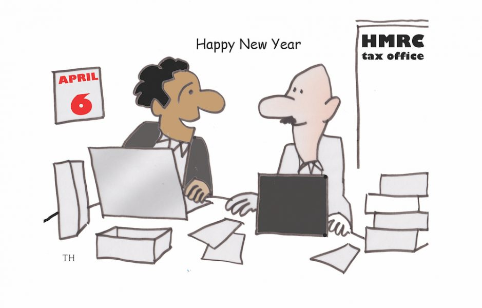 tax year cartoon