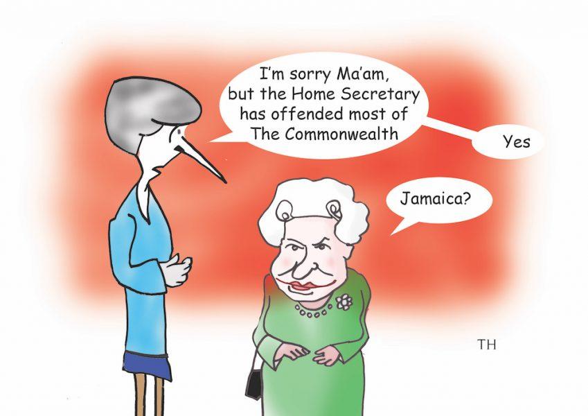 Jamaica cartoon