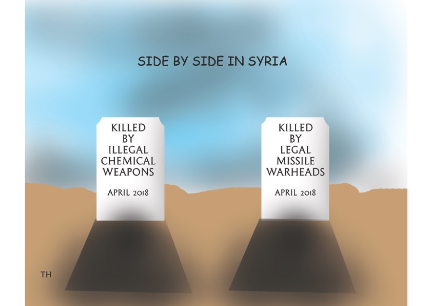side by side in Syria