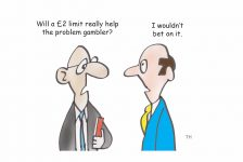 betting cartoon
