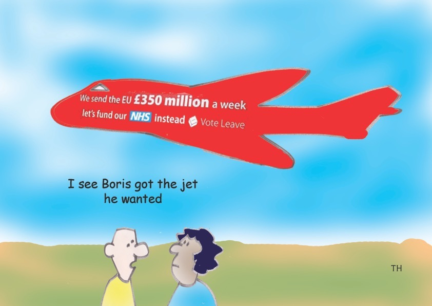 Boris jet cartoon