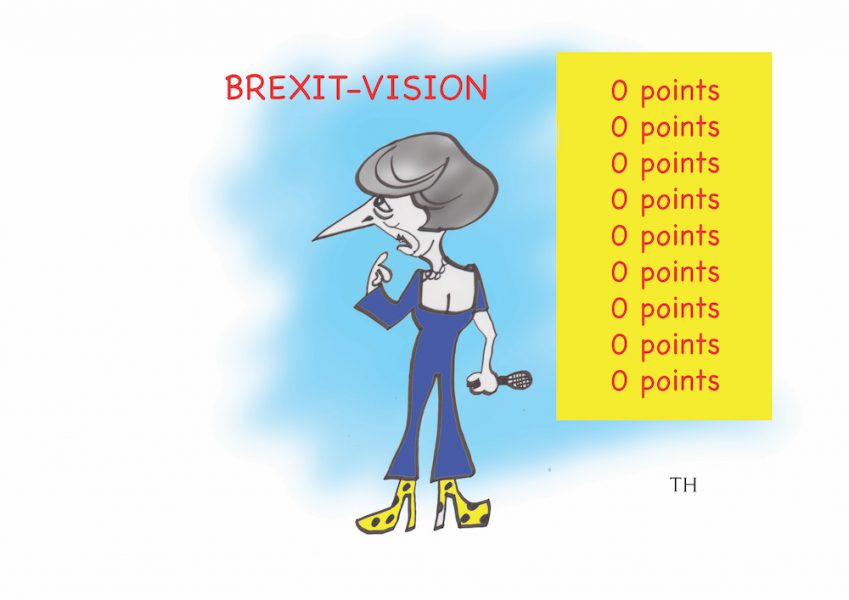 brexit-vision cartoon by Ted Harrison