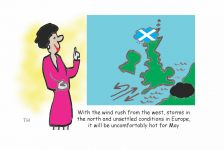 May weather report cartoon