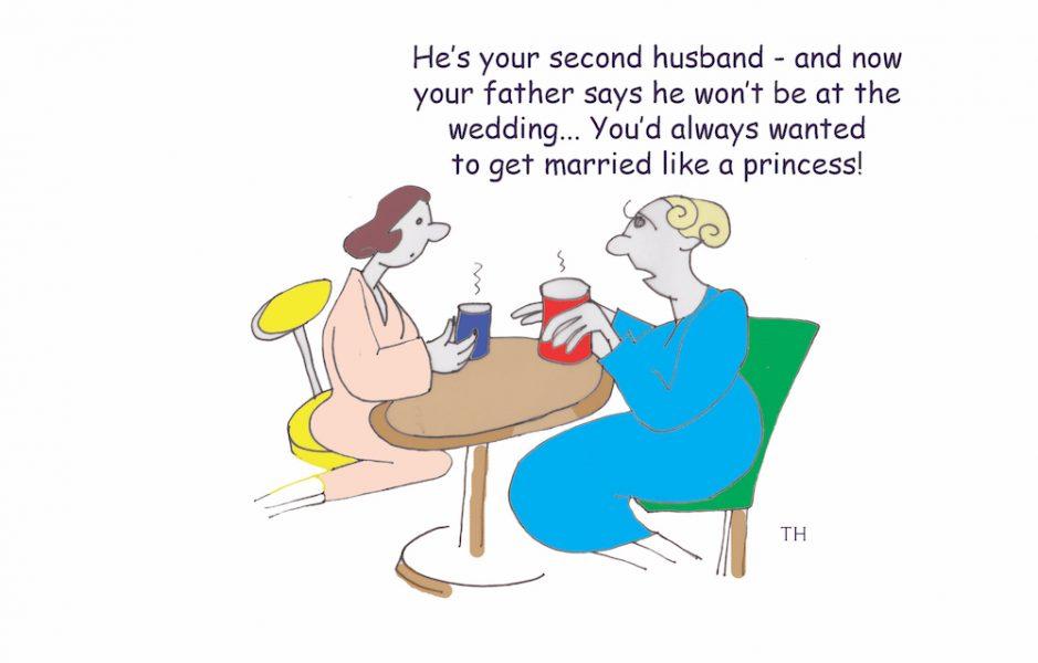 royal wedding cartoon