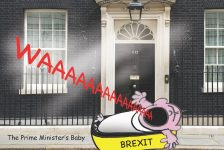 The Prime Minister's baby cartoon