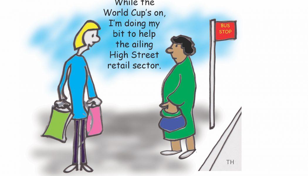 football fever cartoon