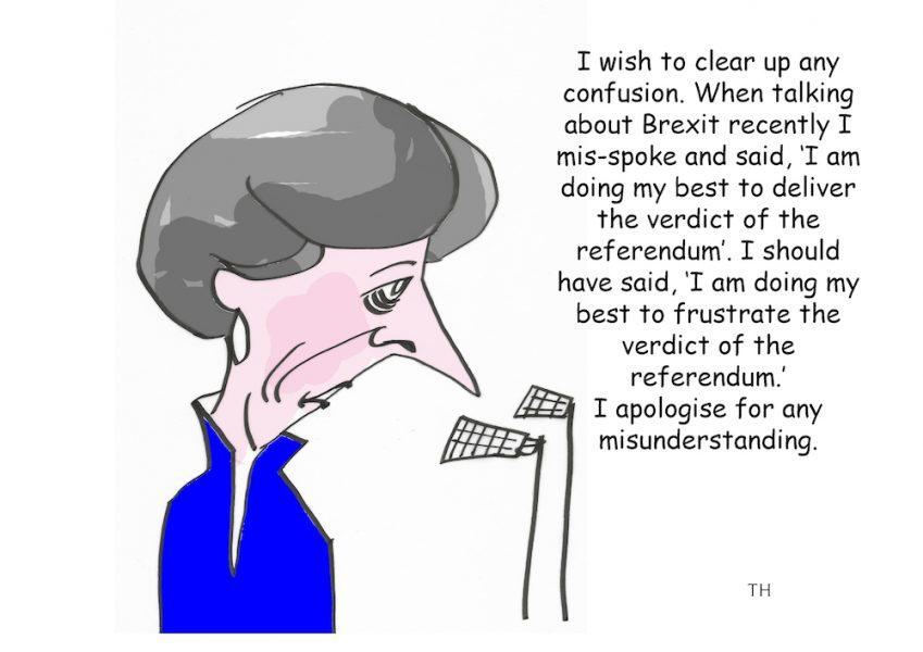 mis-spoke cartoon