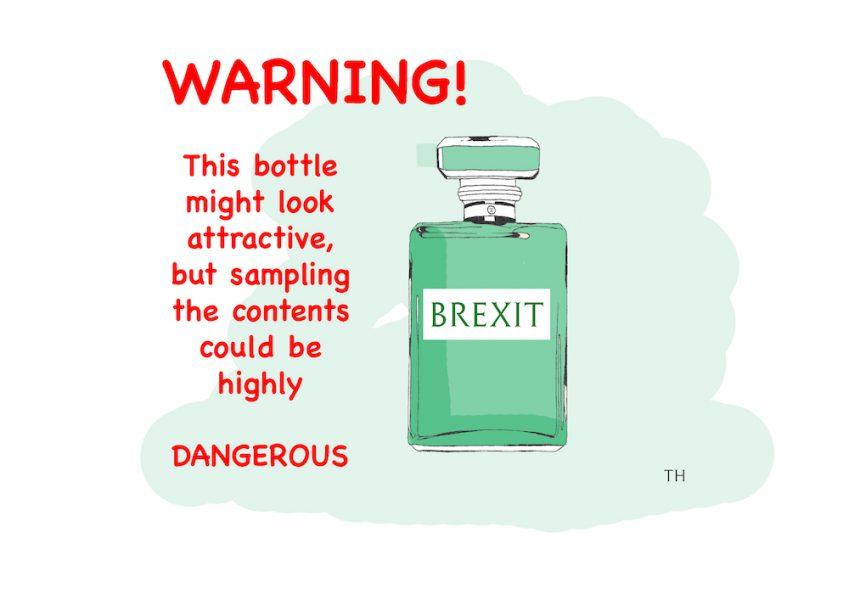Poison Brexit cartoon