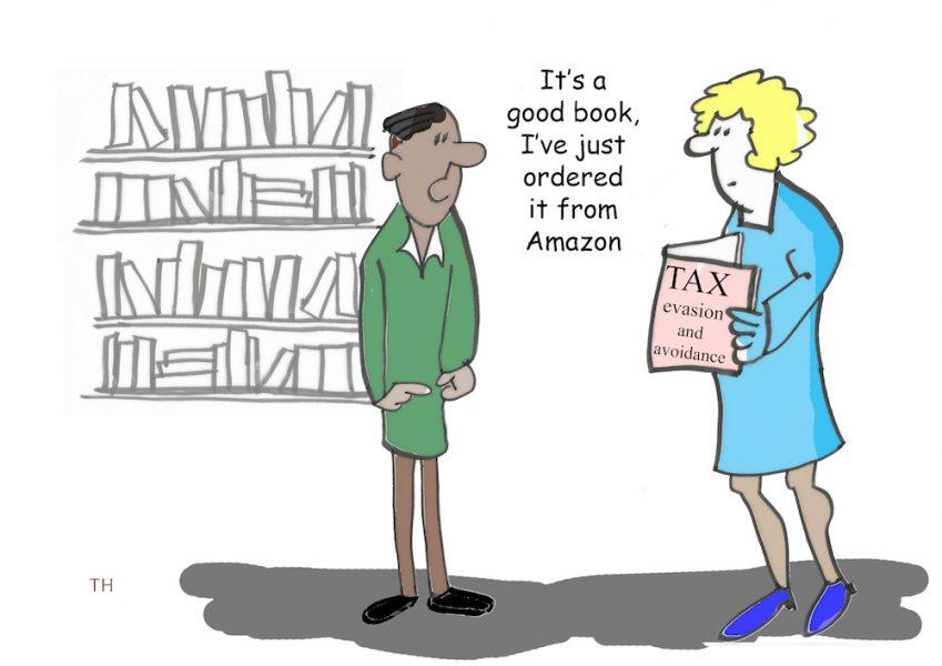 Tax Amazon cartoon