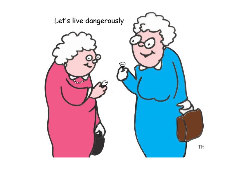 New alcohol advice cartoon