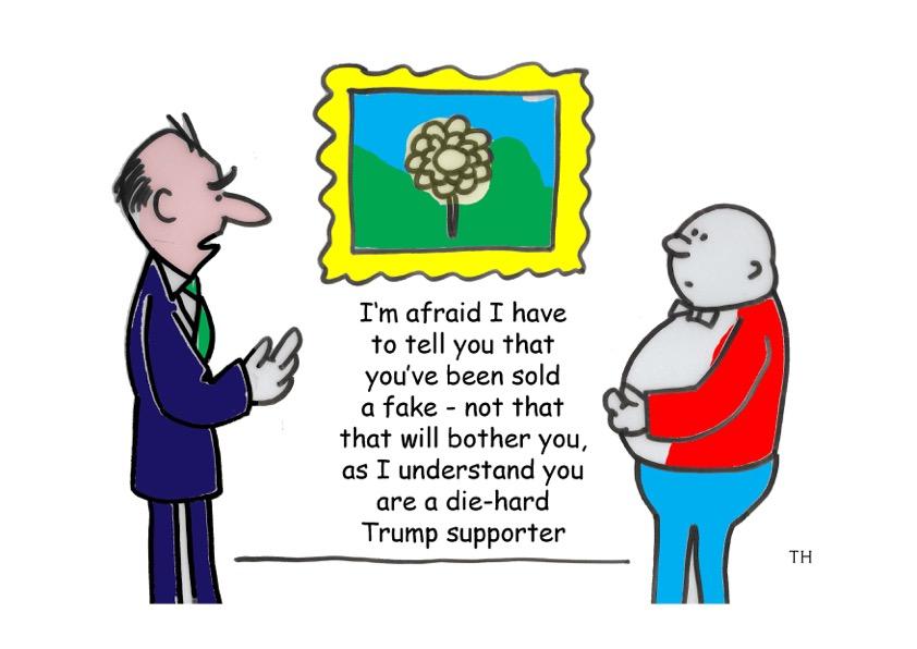Fake Cartoon