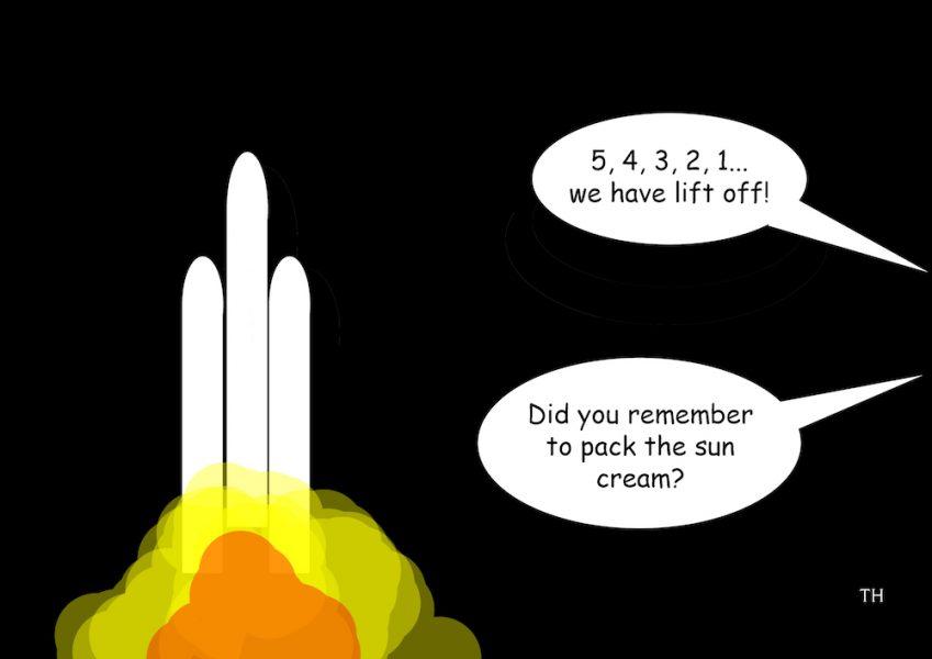 Parker solar probe cartoon