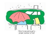 summer cartoon