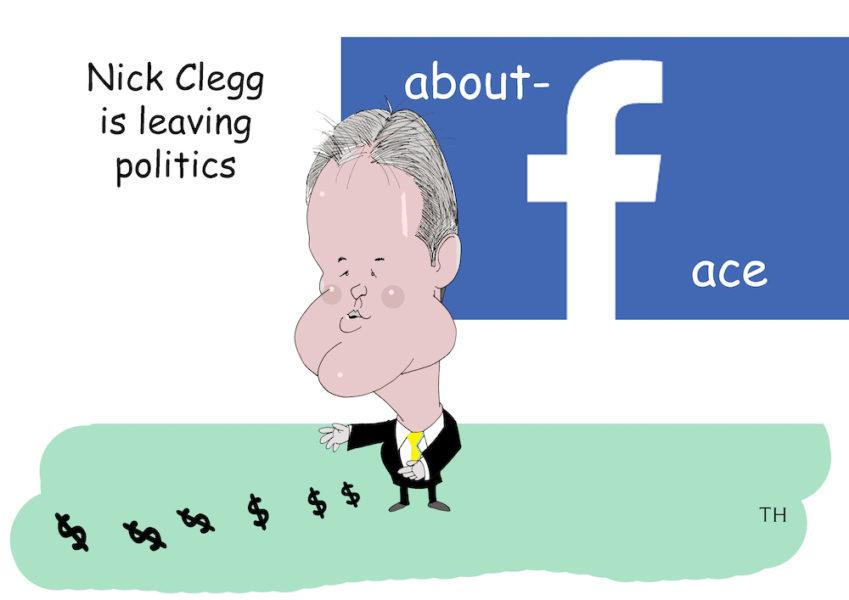 Nick Clegg Facebook cartoon