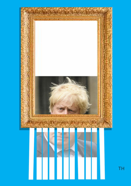 Portrait of Boris cartoon