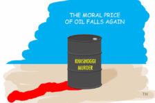 price of oil Jamal Khashoggi cartoon