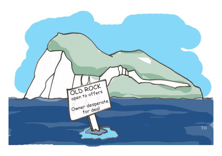 gibraltar cartoon
