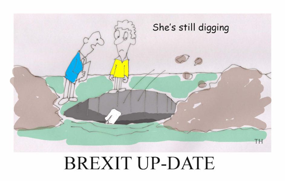 digging Brexit cartoon